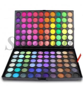 120 matinių spalvų akių šešėlių paletė 5