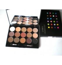 15 spalvų akių šešėlių paletė SP023