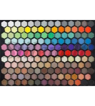 149 perlamutrinių ir matinių spalvų akių šešėlių paletė P149