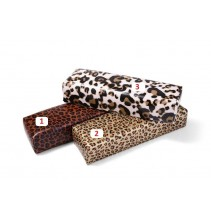 Tamsaus leopardo rašto imitacijos rankų pagalvėlė Nr. 1