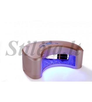 18 W LED lempa geliniams nagų lakams džiovinti UVL14
