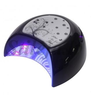 30 W hibridinė LED+UV lempa geliniams nagų lakams džiovinti