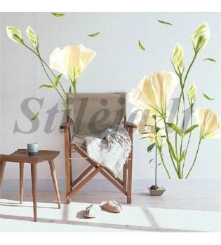 Sienų lipdukas Gėlės4