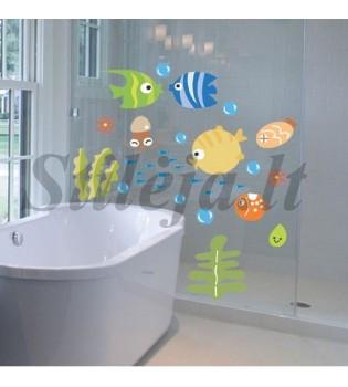 Sienų lipdukas Žuvytės