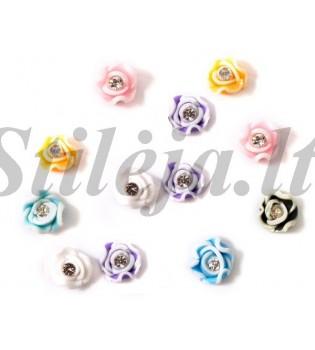 24 vnt. keraminių rožyčių ND009