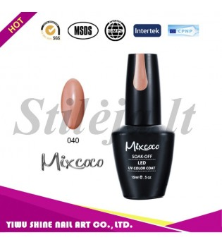 Mixcoco gelinis nagų lakas 040