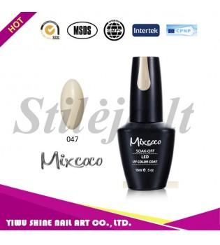 Mixcoco gelinis nagų lakas 047