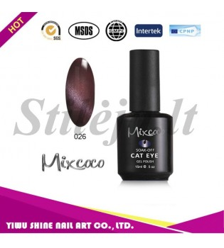 Mixcoco magnetinis nagų lakas katės akys 026