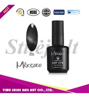 Mixcoco magnetinis nagų lakas katės akys 035
