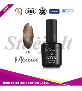 Mixcoco magnetinis nagų lakas katės akys 039