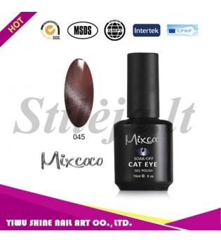 Mixcoco magnetinis nagų lakas katės akys 045