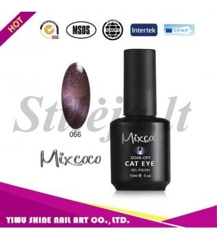 Mixcoco magnetinis nagų lakas katės akys 066