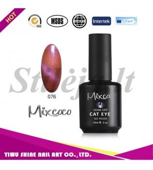 Mixcoco magnetinis nagų lakas katės akys 076