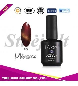Mixcoco magnetinis nagų lakas katės akys 077