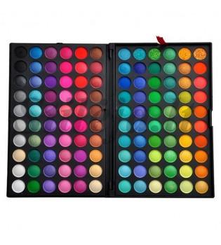120 spalvų akių šešėlių paletė 1