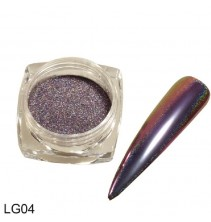 Chameleoninė veidrodinė nagų pudra LG04