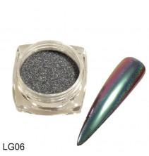 Chameleoninė veidrodinė nagų pudra LG06