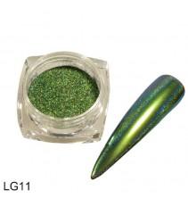 Chameleoninė veidrodinė nagų pudra LG11