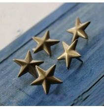 100 vnt. 10 mm bronzinės kniedės KND029