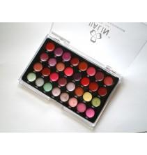 32 spalvų lūpų dažų paletė LP007