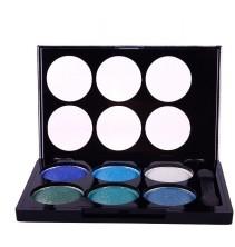 6 spalvų akių šešėlių paletė 9