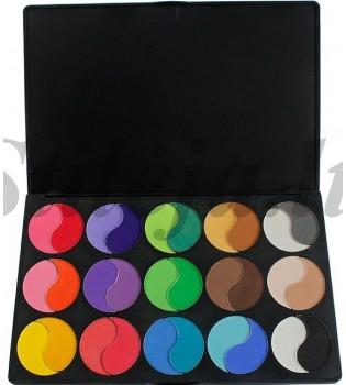 30 spalvų akių šešėlių paletė P30