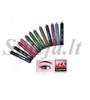 12 pieštukų rinkinys T003