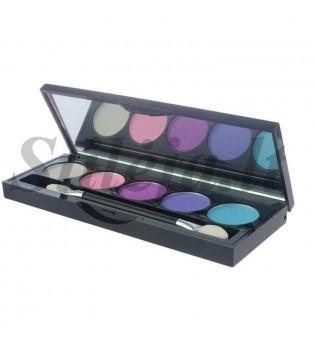 5 spalvų akių šešėlių paletė SP040