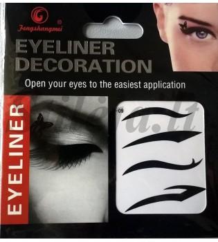 4 laikinos tatuiruotės akims TT03