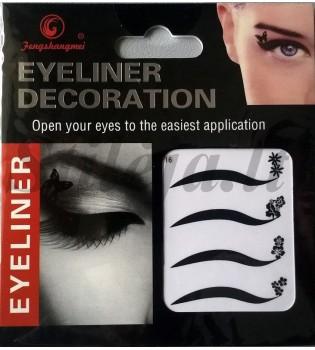 4 laikinos tatuiruotės akims TT07