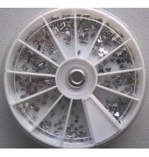 1,5 - 3 mm nagų akmenėlių dekoracijos ND120