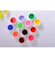 12 spalvotų UV gelių rinkinys ND122