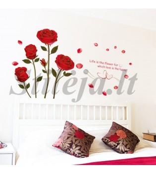 Sienų lipdukas Gėlės2