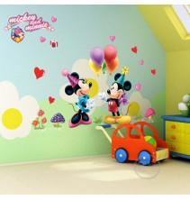 Sienų lipdukas Mikis&Mine