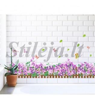 Sienų lipdukas 3D žolė