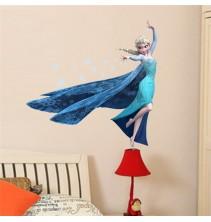 Sienų lipdukas Frozen 3D Alisa