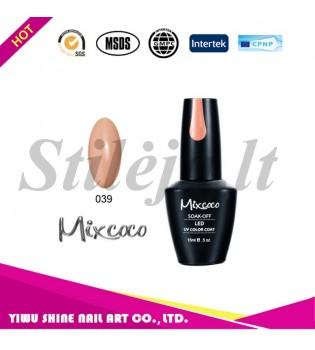 Mixcoco gelinis nagų lakas 039
