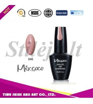 Mixcoco gelinis nagų lakas 046