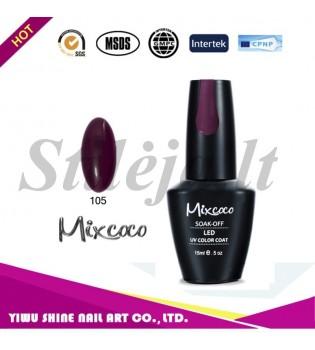 Mixcoco gelinis nagų lakas 105