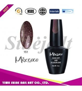 Mixcoco gelinis nagų lakas 151