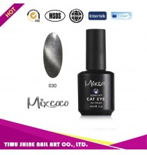 Mixcoco magnetinis nagų lakas katės akys 030