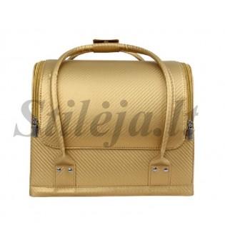 Auksinis profesionalus kosmetikos lagaminas 006