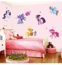 Sienų lipdukas mažasis ponis