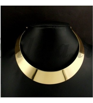 Aukso spalvos metalinė koljė KP001