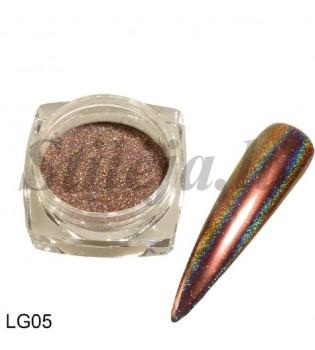 Chameleoninė veidrodinė nagų pudra LG05