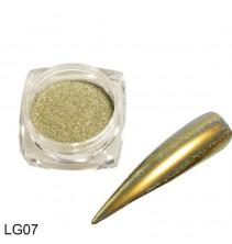 Chameleoninė veidrodinė nagų pudra LG07