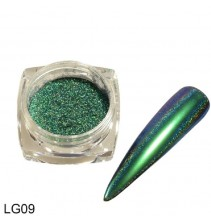 Chameleoninė veidrodinė nagų pudra LG09