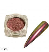 Chameleoninė veidrodinė nagų pudra LG10