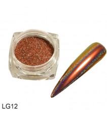 Chameleoninė veidrodinė nagų pudra LG12