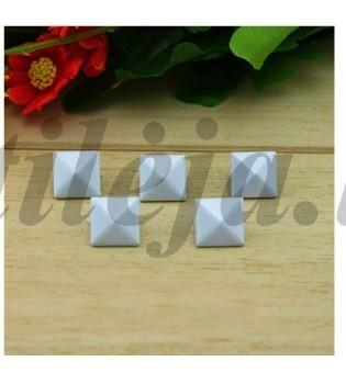 100 vnt. 12 mm baltos kniedės KND007